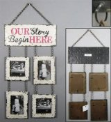 "Fotoram ""Our Story Begin HERE"""