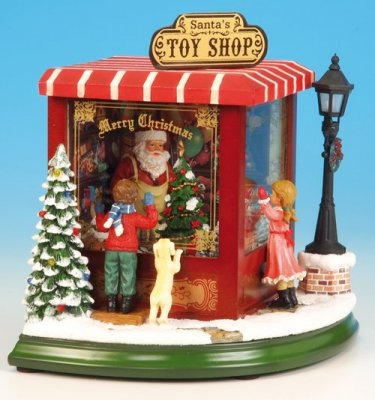 Jultomtens Toy Shop
