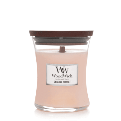 woodwick doftljus coastal sunset medium